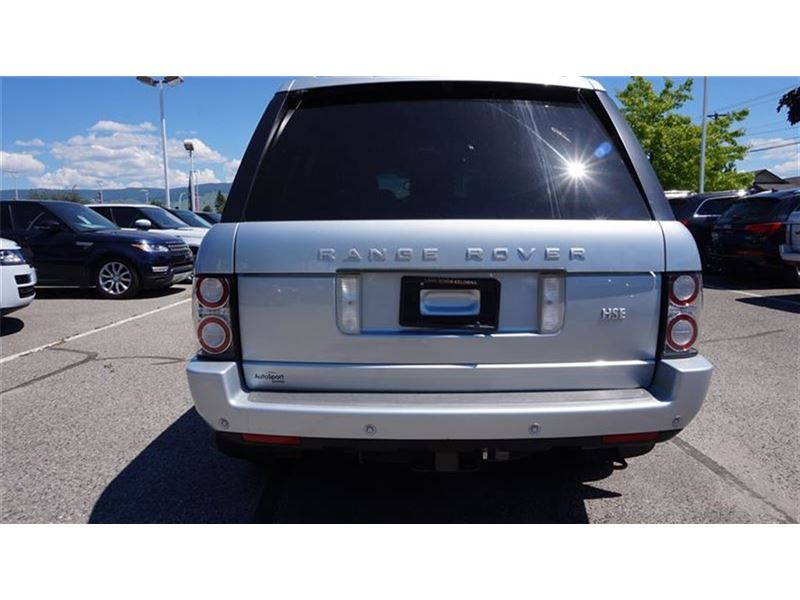 2010 land rover range rover hse suv for sale in kelowna. Black Bedroom Furniture Sets. Home Design Ideas